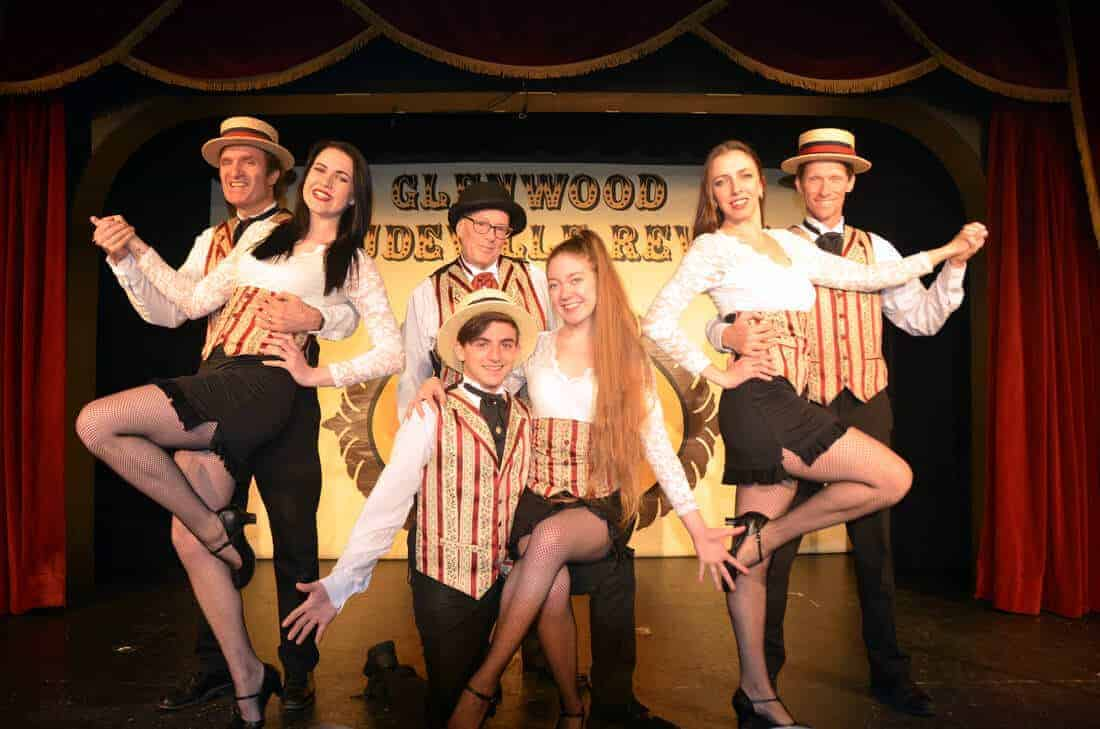 Vaudeville Revue cast in glenwood springs colorado